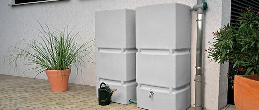 regenwassertank oberirdisch bis 1000 l kaufen. Black Bedroom Furniture Sets. Home Design Ideas