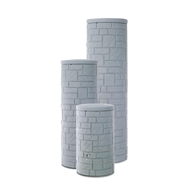 regentonne grau modell arcado 460 l granit. Black Bedroom Furniture Sets. Home Design Ideas