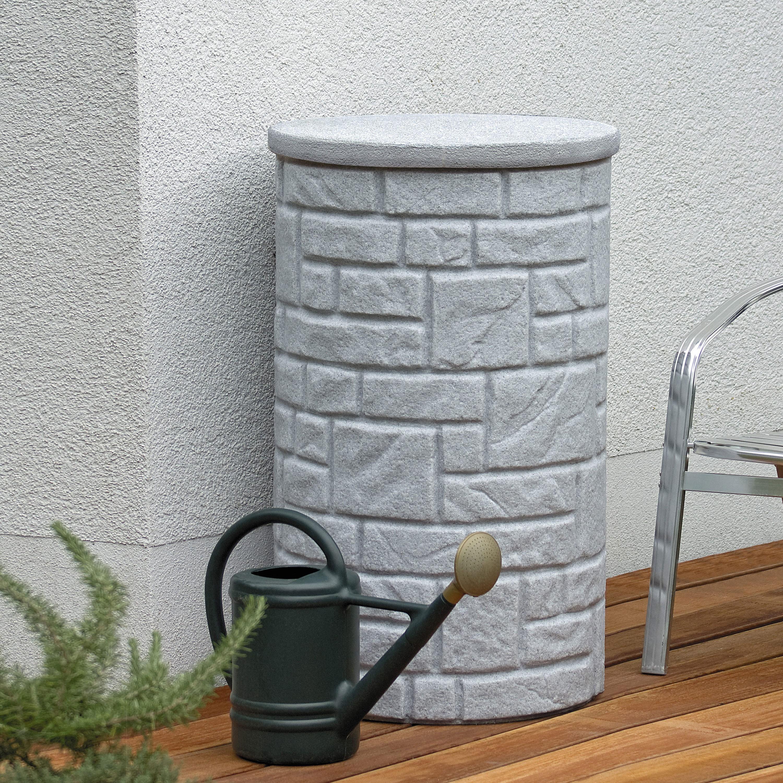 regentonne grau arcado 230 l granit regentonne bersicht. Black Bedroom Furniture Sets. Home Design Ideas