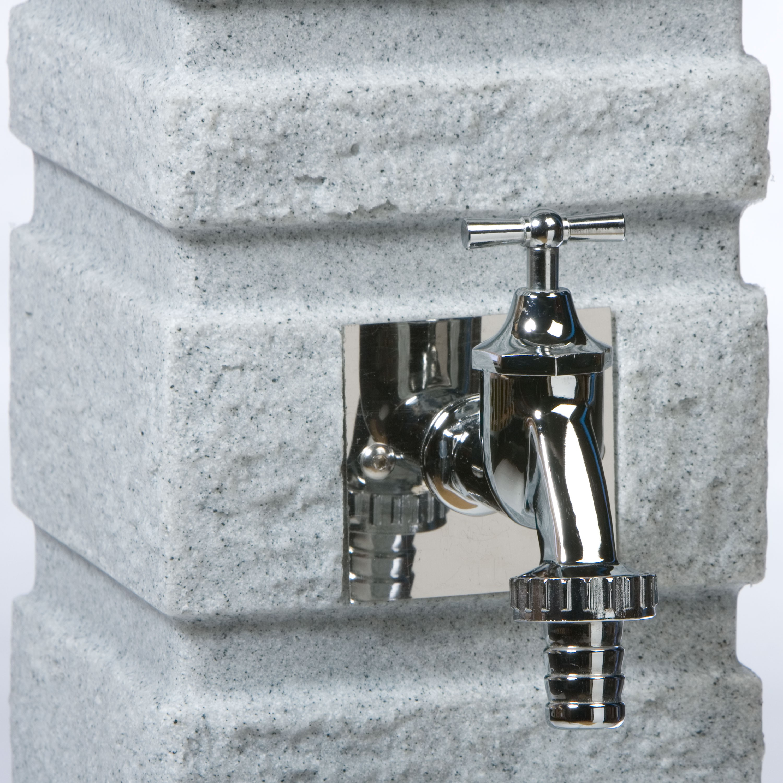 Wasserzapfstelle Romana granit Regensammler, Wasserzapfstellen und ...