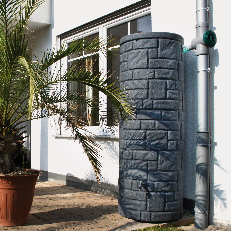regentonne anthrazit modell arcado 360 l black granit. Black Bedroom Furniture Sets. Home Design Ideas