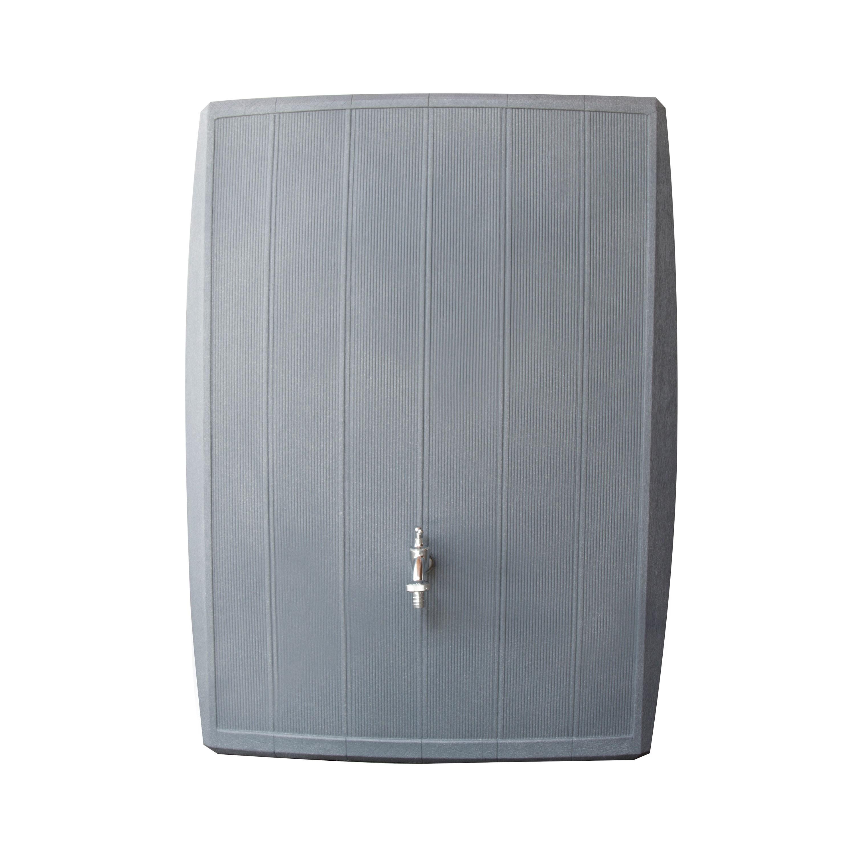 regentonne 200l modell concrete betongrau regentonne bersicht. Black Bedroom Furniture Sets. Home Design Ideas