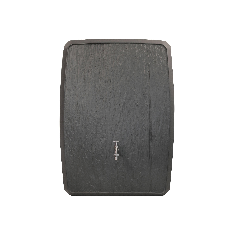 regentonne eckig wandtank multitank 250 l anthrazit. Black Bedroom Furniture Sets. Home Design Ideas