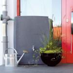regentonne eckig wandtank noblesse 275l black granit. Black Bedroom Furniture Sets. Home Design Ideas