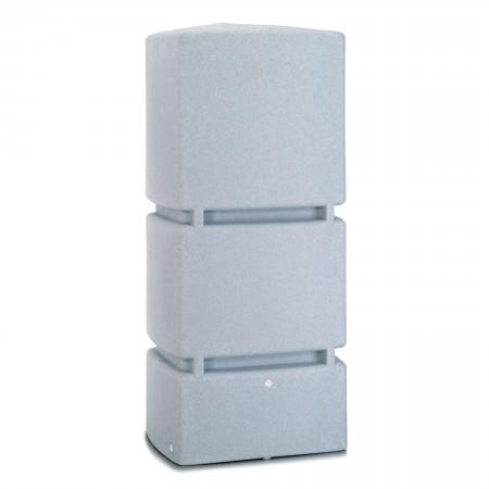 regenwassertank oberirdisch jumbo 800 l granit. Black Bedroom Furniture Sets. Home Design Ideas