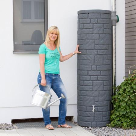 regentonne modern online kaufen im regentonnenshop. Black Bedroom Furniture Sets. Home Design Ideas